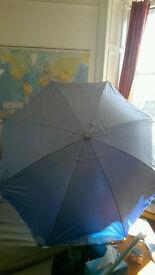 Large beach umbrella