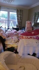 Baby equipment & clothes ranging £1 - £100