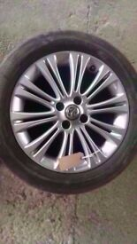 *WHEEL 3* VAUXHALL CORSA D 16 INCH ALLOY WHEEL WITH TYRE