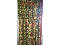 Zoffany Geneo Designer Curtains - Unused - Excellent Condition - Each Fabric Panel is 7ft x 7ft