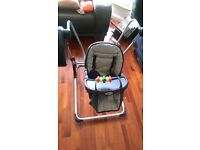 BabyDan Baby Swing with Music from Argos