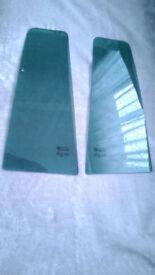 VAUXHALL ZAFIRA B QUARTER DOOR GLASS/WINDOW - rear left and right