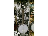 Six string Guitar Banjo. Class Instrument