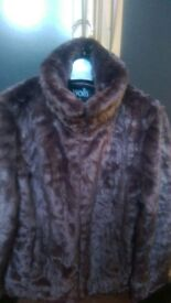 Wallis faux fur jacket (new)