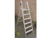 Wooden Step Ladder For Display