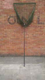 "Unused Korum 42"" specimen net and handle"