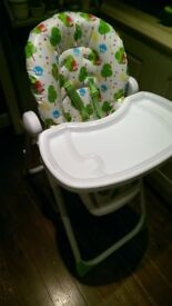 2 high chairs for sale. £20 each or £35 for both
