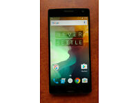 OnePlus One 2 - 64GB - Black (Unlocked) Smartphone 5.5""