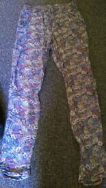 Top shop summer trousers size 6