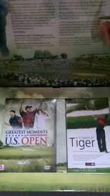 Golf DVD, boxed, unused