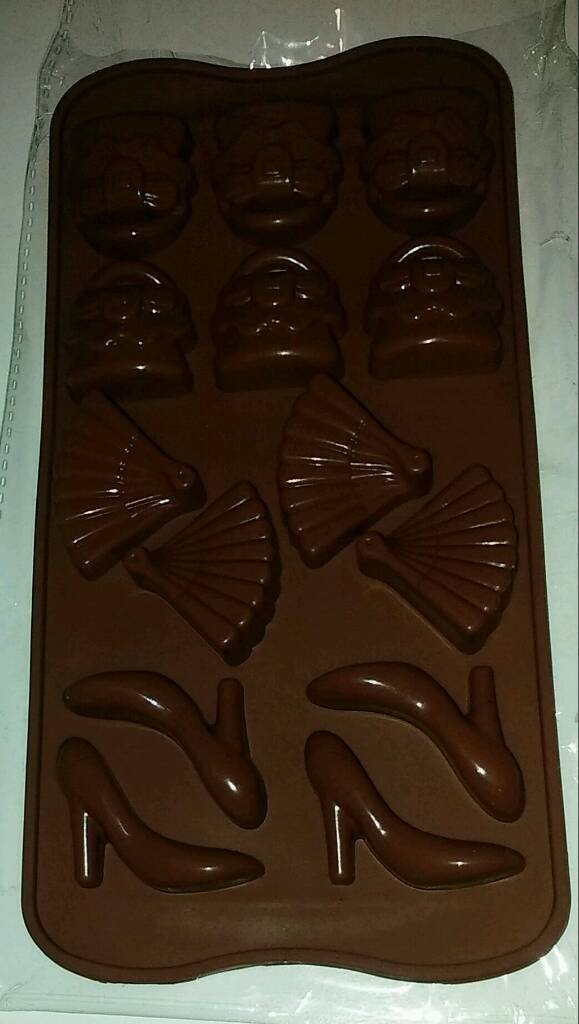 New Handbags And Shoes Chocolate Mould