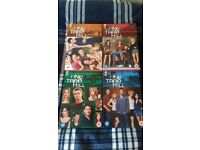 One Tree Hill Season 1-4 DVD Box Sets Mint Condition