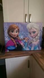 Frozen canvas
