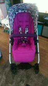 Mamas & papas sola 2 pushchair & extras