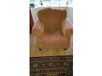 Evesham Armchair in very good condition, cushions on seat and back can be moved/turned