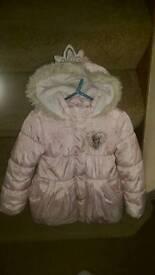 Disney frozen girls coat 6-7years