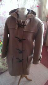 Authentic Burberry wool duffle coat