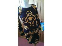Genuine Versace dress size S