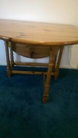 Pine gateleg dining table for sale