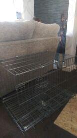 dog cage, medium