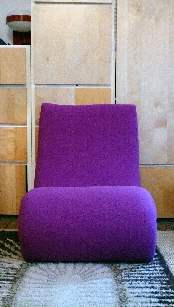 Ordinaire Verner Panton Style.......Funky Modern Super Stylish Comfy Lounge Chairs .