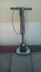 Electrolux wood floor buffer with attachments