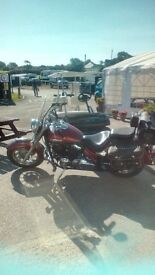 YAMAHA DRAGSTAR 650cc. X REG. LOW MILEAGE