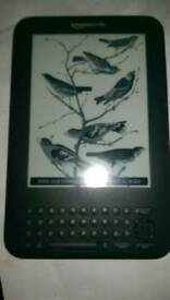 Amazon Kindle 3rd gen model D00901