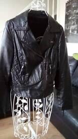 Zara biker jacket size 10