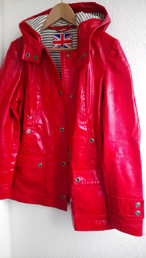 NEXT Red jacket/coat size 14, + TRESSPASS pink waterproof outdoor jacket sz. M ,EXCELLENT CONDITION