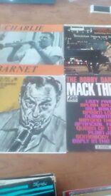 Jazz LP vinyl records