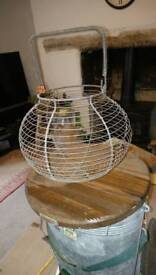 Old French Wire Egg Basket