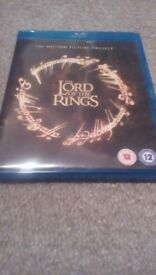 The Lord Of The Rings Trilogy Blu Ray Free Delivery