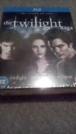The Twilight Saga Blu Ray New And Sealed Free Delivery