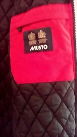 Mens Musto Jacket never worn unwanted gift.