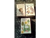 PLAYING CARDS, ROMAN EMPIRE, GARDEN BIRDS AND TREES USED/NEW
