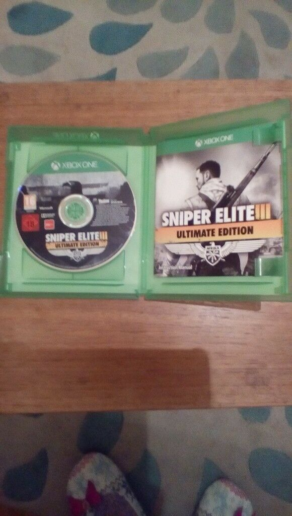 XBOX ONE GAME - Sniper Elite 3 Ultimate