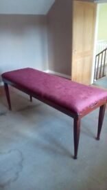 Upholstered therapy couch