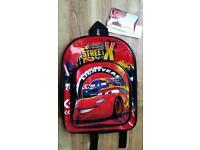 Disney Cars Lightning McQueen Rucksack Bag NEW