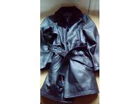 Big bundle ladies clothes/leather coat