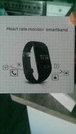 Heart rate monitor smartband