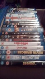 200 Blu Rays Boxed Like New Free Delivery
