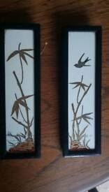 Antique Chinese hand painted ceramics