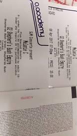 Melanie C Mel C x 2 Tickets 02 Shepherds Bush London