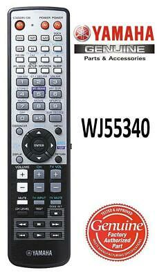 New Yamaha WJ55340 Sound Bar Remote Control fits YSP-3000 YSP-3050 YSP-4000 for sale  Shipping to India