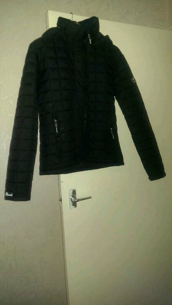 Jacket bubble style superdry large/ mediumin East End, GlasgowGumtree - Never worn £90 unwanted gift open to offer as its better someone having it than. I one.. nice style jacket. Its a large although I feel a it will fit a medium too. Small made brand