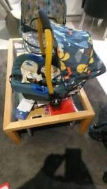 Casatto 0+ car seat