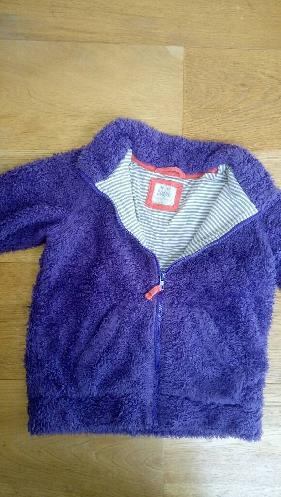 miniBoden fleece for 7-8 year old girl