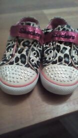 Sketchers Twinkletoes size 7