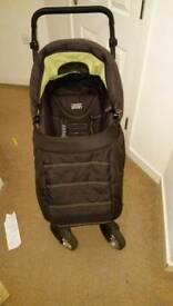 Pram/Stroller and baby car seat
